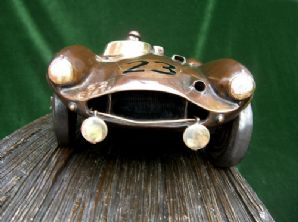 Aston Martin DB3S Le Mans 1955 . Foundry-cast Bronze